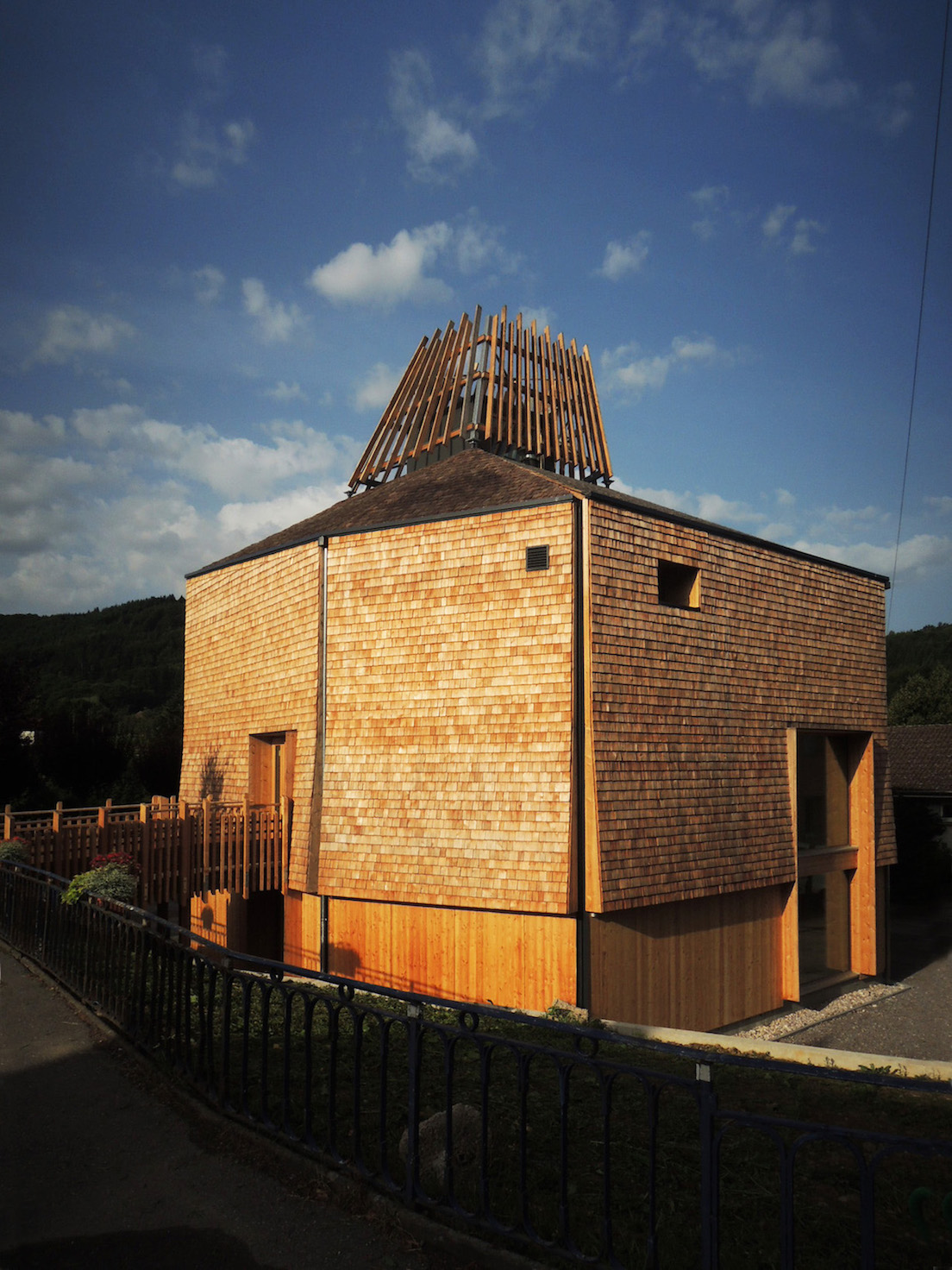 Haha architectures La ruche