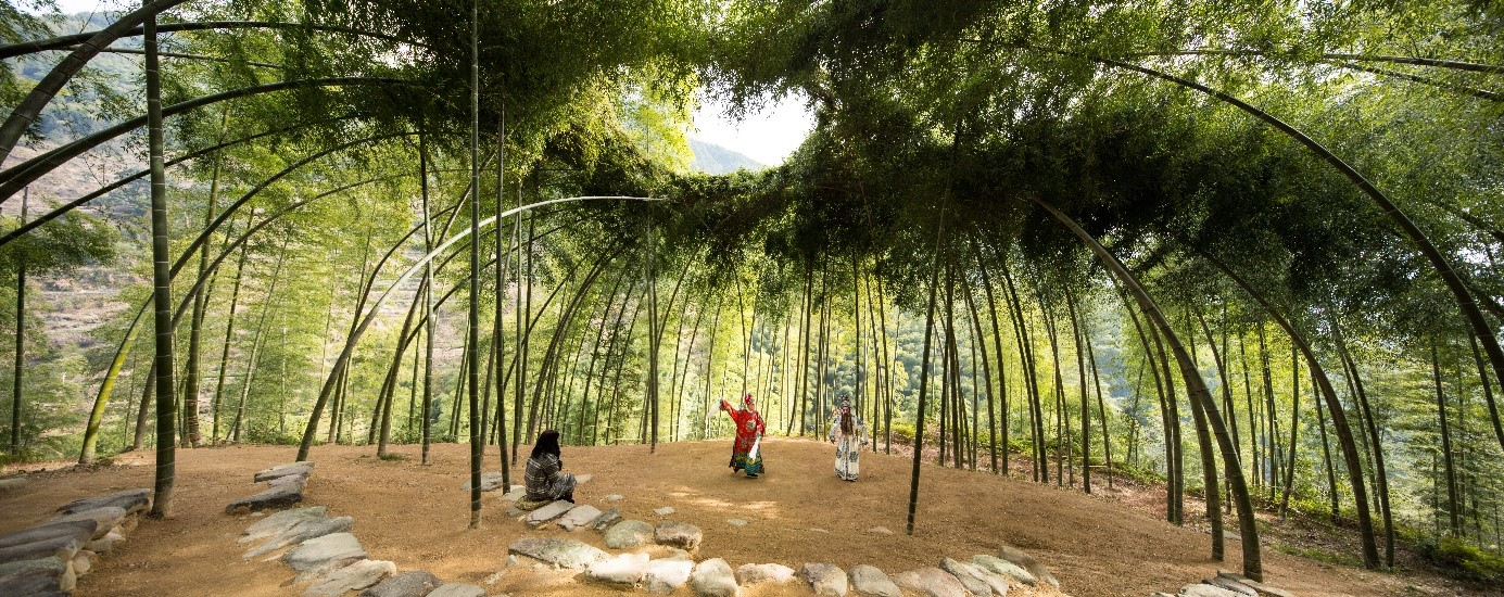 Tiantian Xu - bamboo theater