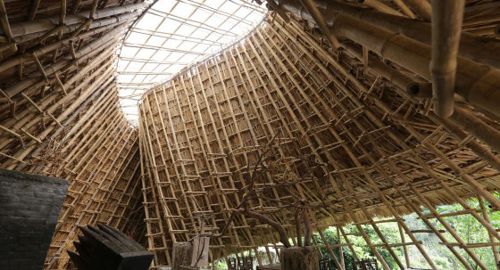 akasa minh architect - Bamboo light of empty